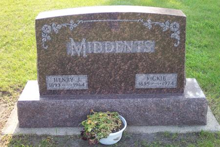 MIDDENTS, HENRY J. - Hamilton County, Iowa | HENRY J. MIDDENTS