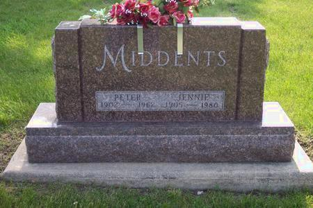 MIDDENTS, PETER - Hamilton County, Iowa | PETER MIDDENTS
