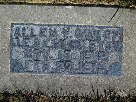 MIDDLETON, ALLEN V. - Hamilton County, Iowa | ALLEN V. MIDDLETON