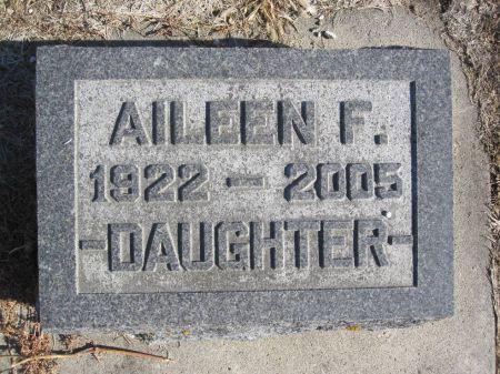 MILLER, AILEEN F. - Hamilton County, Iowa   AILEEN F. MILLER