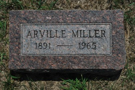 MILLER, ARVILLE - Hamilton County, Iowa | ARVILLE MILLER