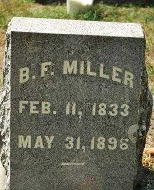 MILLER, B. F. - Hamilton County, Iowa   B. F. MILLER