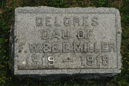 MILLER, DELORES - Hamilton County, Iowa | DELORES MILLER
