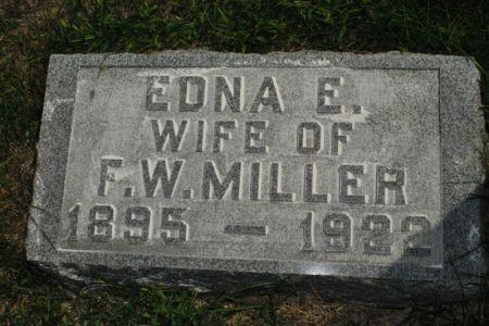 MILLER, EDNA E. - Hamilton County, Iowa   EDNA E. MILLER