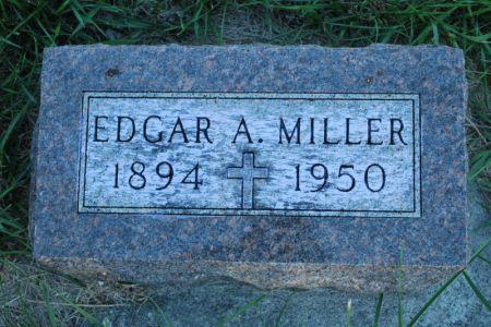 MILLER, EDGAR A. - Hamilton County, Iowa   EDGAR A. MILLER