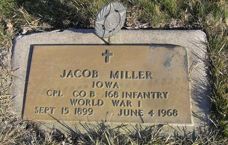 MILLER, JACOB - Hamilton County, Iowa | JACOB MILLER