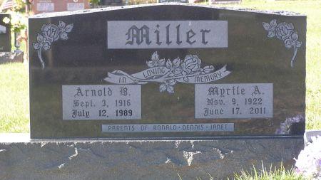 MILLER, ARNOLD B. - Hamilton County, Iowa   ARNOLD B. MILLER