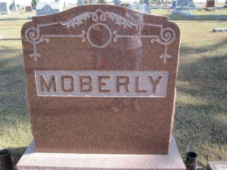 MOBERLY, FAMILY STONE - Hamilton County, Iowa   FAMILY STONE MOBERLY