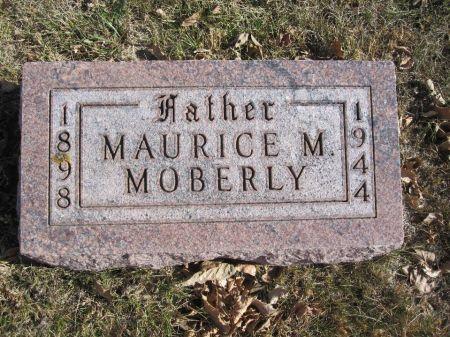 MOBERLY, MAURICE M. - Hamilton County, Iowa   MAURICE M. MOBERLY
