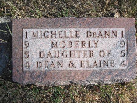 MOBERLY, MICHELLE DEANN - Hamilton County, Iowa   MICHELLE DEANN MOBERLY
