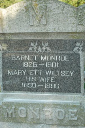 MONROE, BARNET - Hamilton County, Iowa | BARNET MONROE