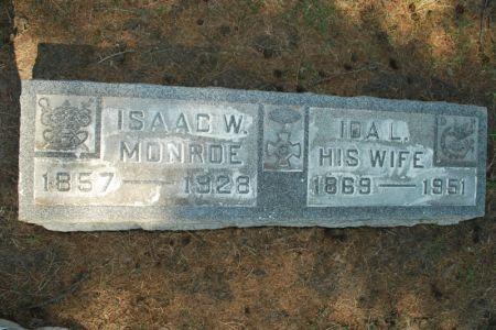 MONROE, ISAAC W. - Hamilton County, Iowa | ISAAC W. MONROE