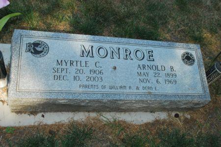 MONROE, MYRTLE C. - Hamilton County, Iowa | MYRTLE C. MONROE