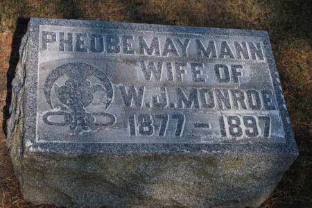 MONROE, PHEOBE MAY - Hamilton County, Iowa   PHEOBE MAY MONROE