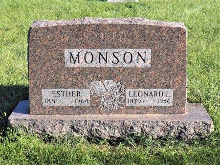 SWANSON MONSON, ESTHER - Hamilton County, Iowa | ESTHER SWANSON MONSON