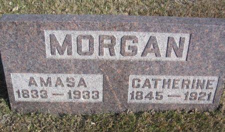 MORGAN, AMASA - Hamilton County, Iowa   AMASA MORGAN