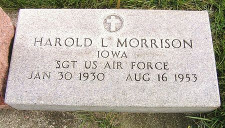 MORRISON, HAROLD L. - Hamilton County, Iowa   HAROLD L. MORRISON