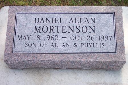 MORTENSON, DANIEL ALLAN - Hamilton County, Iowa   DANIEL ALLAN MORTENSON