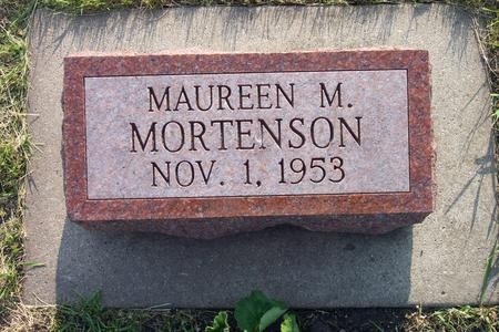MORTENSON, MAUREEN M. - Hamilton County, Iowa   MAUREEN M. MORTENSON