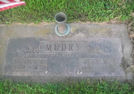 RUARK MUDRY, CECILIA A. - Hamilton County, Iowa   CECILIA A. RUARK MUDRY