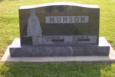 MUNSON, LUBERTUS J. - Hamilton County, Iowa | LUBERTUS J. MUNSON