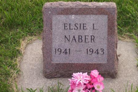 NABER, ELSIE L. - Hamilton County, Iowa | ELSIE L. NABER