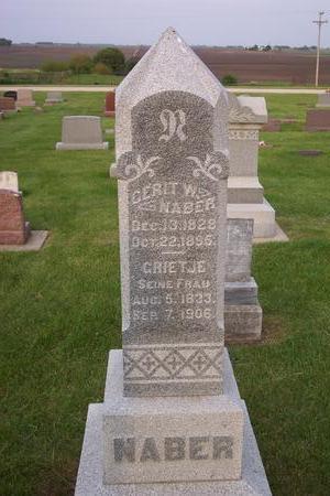 NABER, GERIT - Hamilton County, Iowa | GERIT NABER