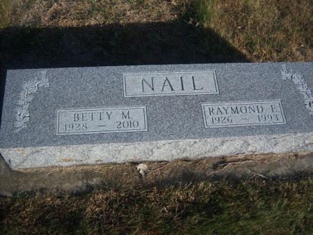 NAIL, BETTY M. - Hamilton County, Iowa | BETTY M. NAIL
