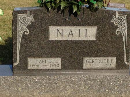NAIL, GERTRUDE E. - Hamilton County, Iowa | GERTRUDE E. NAIL