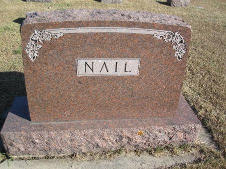 NAIL, FAMILY STONE - Hamilton County, Iowa   FAMILY STONE NAIL