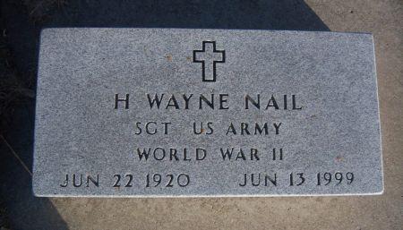 NAIL, H. WAYNE - Hamilton County, Iowa   H. WAYNE NAIL