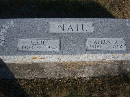 NAIL, ALLEN R. - Hamilton County, Iowa   ALLEN R. NAIL
