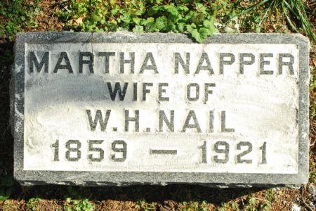 NAIL, MARTHA NAPPER - Hamilton County, Iowa | MARTHA NAPPER NAIL