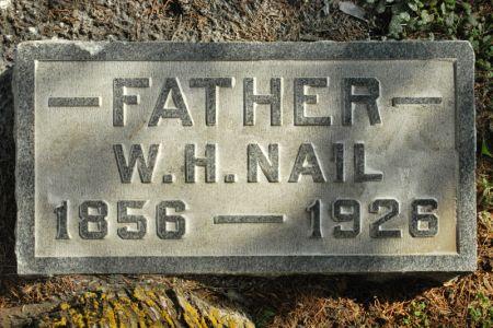 NAIL, WILLIAM HENRY - Hamilton County, Iowa | WILLIAM HENRY NAIL
