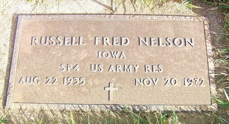 NELSON, RUSSELL FRED - Hamilton County, Iowa | RUSSELL FRED NELSON