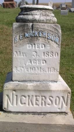 NICKESON, RICHARD EVERY - Hamilton County, Iowa | RICHARD EVERY NICKESON