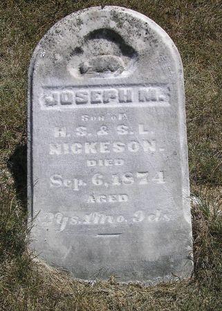 NICKESON, JOSEPH M. - Hamilton County, Iowa | JOSEPH M. NICKESON