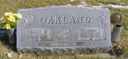 OAKLAND, RICHARD S. - Hamilton County, Iowa   RICHARD S. OAKLAND