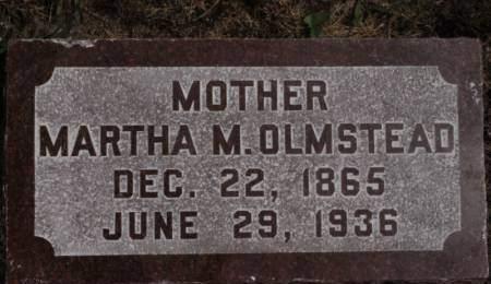 OLMSTEAD, MARTHA M. - Hamilton County, Iowa   MARTHA M. OLMSTEAD