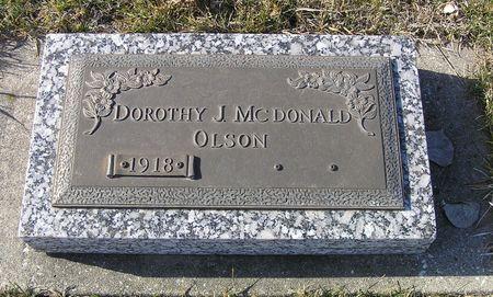 MCDONALD OLSON, DOROTHY J. - Hamilton County, Iowa | DOROTHY J. MCDONALD OLSON