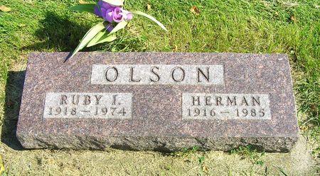 HOBBS OLSON, RUBY I. - Hamilton County, Iowa | RUBY I. HOBBS OLSON