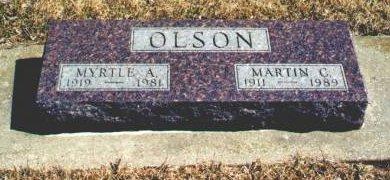 HOBBS OLSON, MYRTLE A. - Hamilton County, Iowa | MYRTLE A. HOBBS OLSON