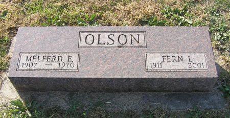 SATRE OLSON, FERN I. - Hamilton County, Iowa   FERN I. SATRE OLSON