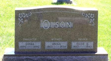 OLSON, ORRA - Hamilton County, Iowa | ORRA OLSON
