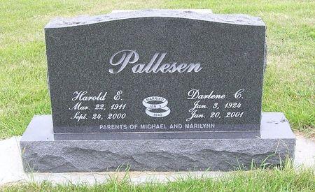 PALLESEN, HAROLD E. - Hamilton County, Iowa | HAROLD E. PALLESEN