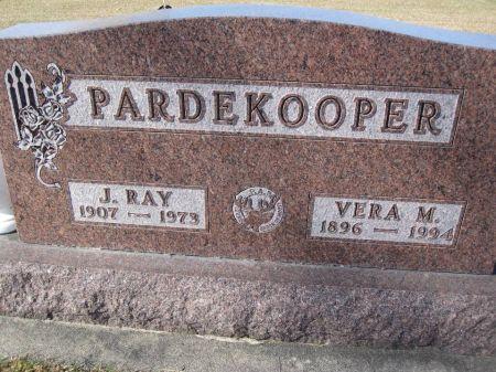 PARDEKOOPER, VERA M. - Hamilton County, Iowa | VERA M. PARDEKOOPER