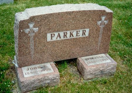 CRANE PARKER, MARY MELISSA - Hamilton County, Iowa | MARY MELISSA CRANE PARKER