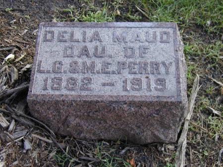 PERRY, DELIA MAUD - Hamilton County, Iowa | DELIA MAUD PERRY