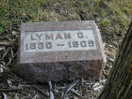PERRY, LYMAN G. - Hamilton County, Iowa   LYMAN G. PERRY