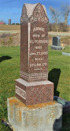 LUND PETERSON, ANNIE - Hamilton County, Iowa | ANNIE LUND PETERSON